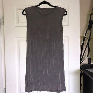 Grey muscle tank style dress